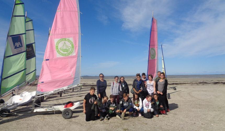Séjour d'accueil des 4° en baie du Mont St Michel