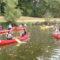 Canoë et Kayak en cours d'E.P.S. pour les 3°