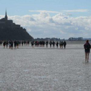 Journée d'intégration en Baie du Mont Saint Michel
