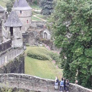 Visite du Château de Fougères, patrimoine historique